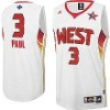 brand jerseys 2009  All-Star #3 Chris Paul Western Confer white