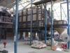 22 square meters frit kiln