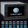 For VW VOLKSWAGEN 7inch double din car gps navigation with HD digital panel resolution 800x480