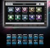 2 Din 7 Inch CAR DVD GPS Nav Stereo IPOD Ready TV FM Bluetooth with amazing Fast speed of touch control.Detachable Panel