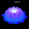 LED Candle with lotus shape