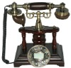 Craft telephone with antique style