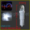 T5 LED white wedge bulb