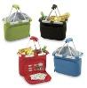 picnic basket, picnic bag, camping basket,shopping basket, collapsible shopping basket, market tote