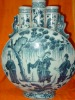 Authentic Chinese Blue and White Porcelain VASE MING Dynasty