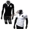 2012 Mens Embroidery Short Sleeve Slim Polo Shirts NY Shirt