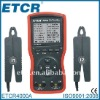 ETCR4000A Double Clamp /Three Phase Digital Phase Meter ----Manufactory, RS232 interface