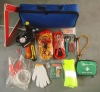 Auto road tool Kit with Triangle Bag,safety
