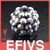 fashion shamballa crystal bead bracelet
