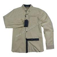 72%cotton 28%linen shirts for men casual shirt