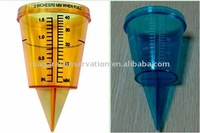 Rain Gauge- Orange & Blue