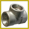alloy steel pipe tee