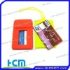 Good promotional gifts silicone credit card wallet