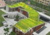 PVC-GF waterproof membrane for roof garden