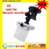 X5 Recycle recording AVI format Max 32GB SD card CAR DVR
