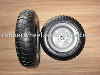 SW2504Y pneumatic solid rubber wheel for wheelbarrow