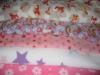 different pattern printed polar fleece fabric