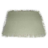 2012 prewashed new throw Fringe Cotton Throw