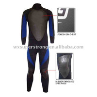 2012 High Quality Mens Smooth Skin Designer Wetsuit Available in Various Sizes Made of Neoprene,with Rubber or Printing on Knees