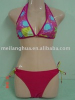 Halter bikini swimwear for ladies and women