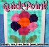 Quick point diy flower cross stitch kit