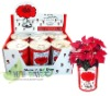 DIY can flower,tin flower,flower in can