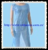Disposable nonwoven PE Apron:HXO-04