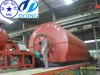 pyrolysis waste tire recycling production line