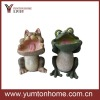 Resin Frog Garden Decor