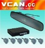 VFD Rearview Mirror LED Display OEM wireless Parking Sensor /VCAN0393-2