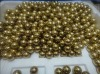 gold steel ball /brass ball/ beads