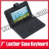 "USB Keyboard Leather Case with Stylus Pen For 7"" Android Tablet PC MID aPad ePad"