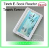 Touch Screen E-Book E-link Reader for Electronic-Book Reader 7''inch E-Book Reader+RK2738 TFT Screen with MP3 Movie