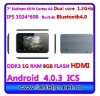 Dual Core 1.5GHZ IPS screen Android 4.0 Flash 11.1 Bluetooth 7inch (N751)