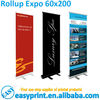 Rollup Expo size 60x200 Easy Roll Up Stand Display