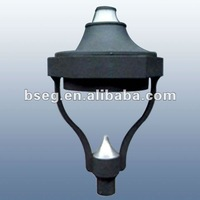 energy saving electric yard lights with fluorescent light fixture