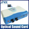 external usb 2.0 7.1CH optical audio sound card adapter