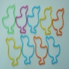 lovely ducks silicone rubber band