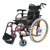 Self-Locking Brake Aluminum pedal wheelchair With Height Adjustable Armrest And Two Types Brake