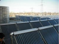 Intergrated pressurized solar water heater
