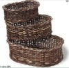 wicker baskets sets