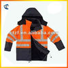 Men and Women Safety Work Wear Jacket with Hood Outdoor Wear