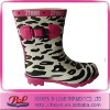 Fashion Children Rubber Rain Boots