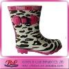 Fashion Children Rubber Rain Boots