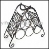 170301wire wine bottle display rack