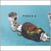 Resin tobacco smoking pipe