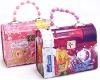Handle kids tin cartoon multipurpose box