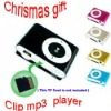 Promotion Cheap price! TF card slot Metal Mini Clip MP3 Player