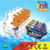 New Compatible ink cartridges for printers Epson T1281/T1282/T1283/T1284 BK/C/M/Y, Patent ink cartridges for epson printers