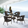 Outdoor rattan coffee table and chair-SK-641